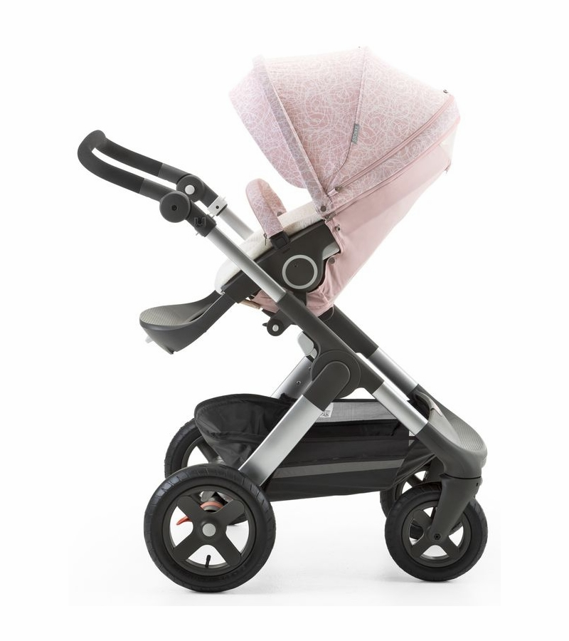 stokke stroller summer kit for xplory crusi trailz faded pink. Black Bedroom Furniture Sets. Home Design Ideas