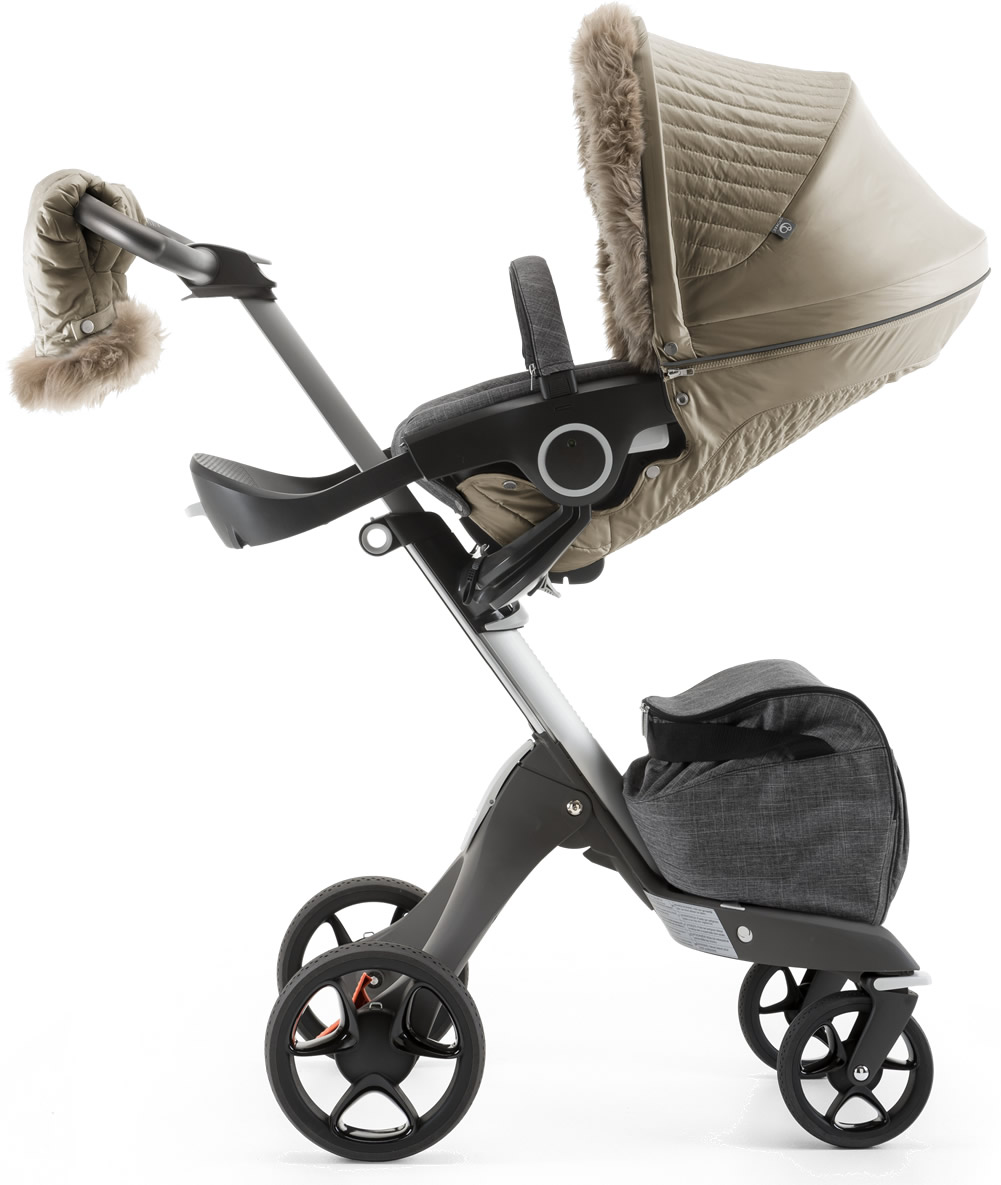 Stokke Stroller Winter Kit In Bronze