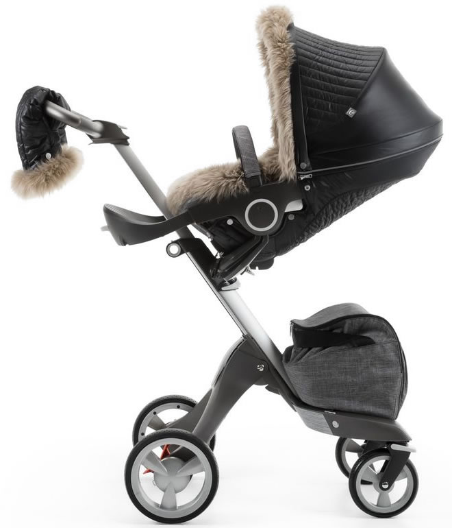 Stokke Stroller Winter Kit - Onyx Black