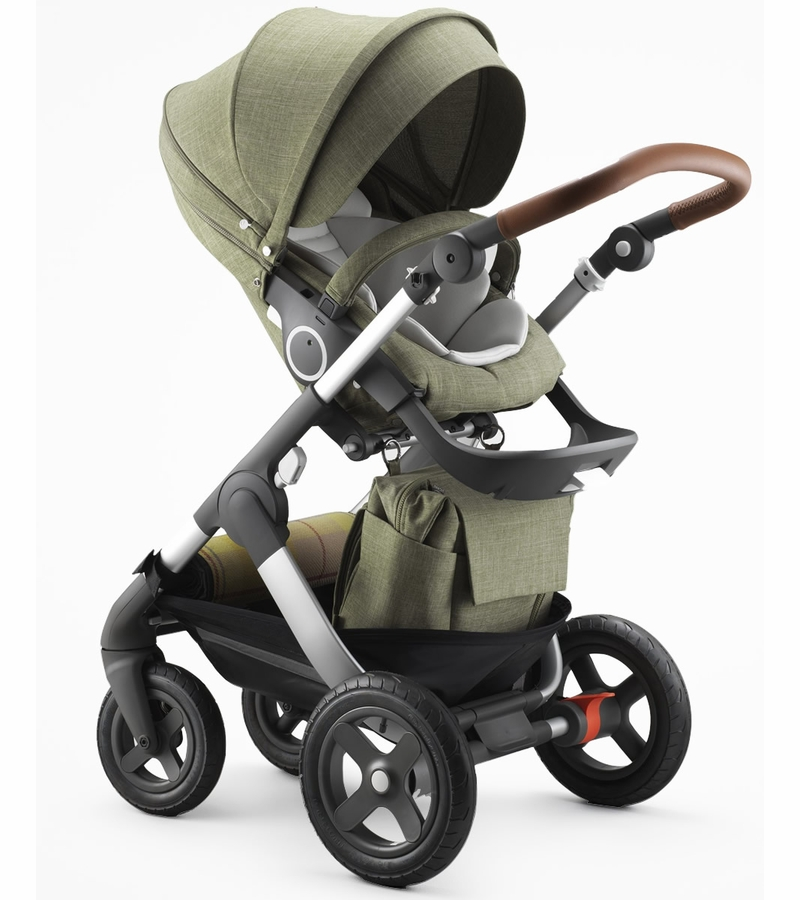 stokke trailz stroller exclusive edition nordic green. Black Bedroom Furniture Sets. Home Design Ideas