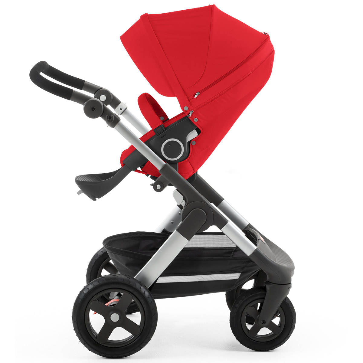 stokke trailz stroller red. Black Bedroom Furniture Sets. Home Design Ideas
