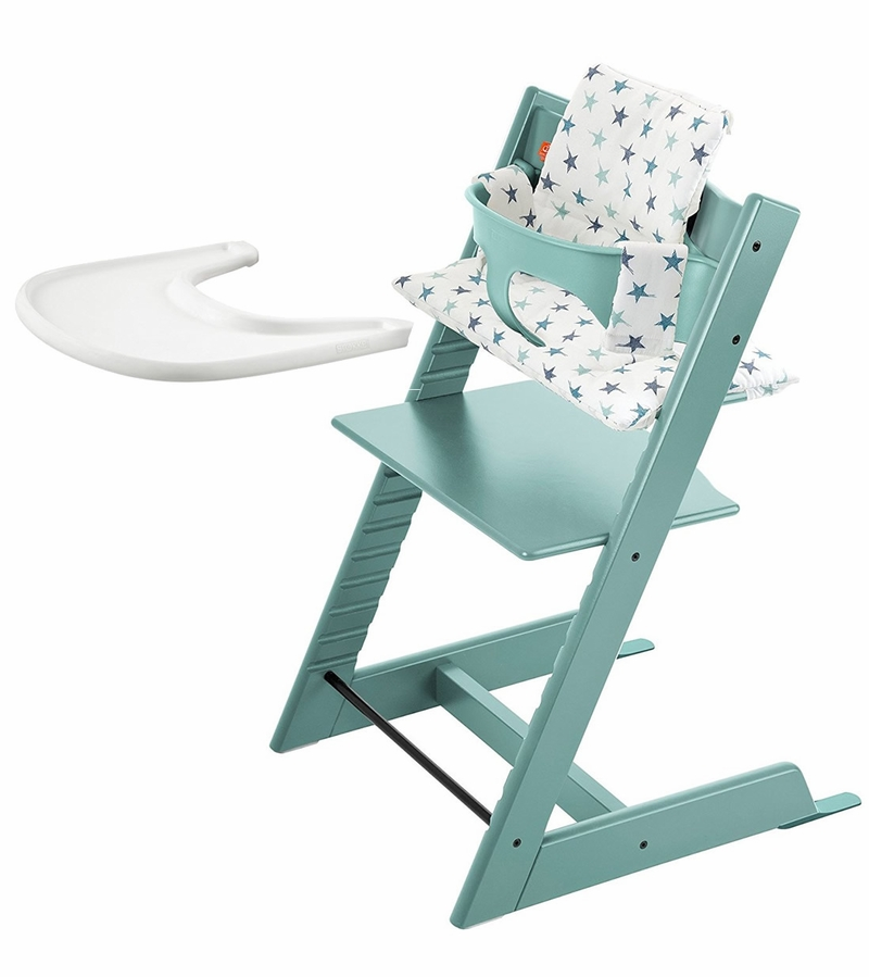 stokke tripp trapp bundle aqua aqua stars. Black Bedroom Furniture Sets. Home Design Ideas