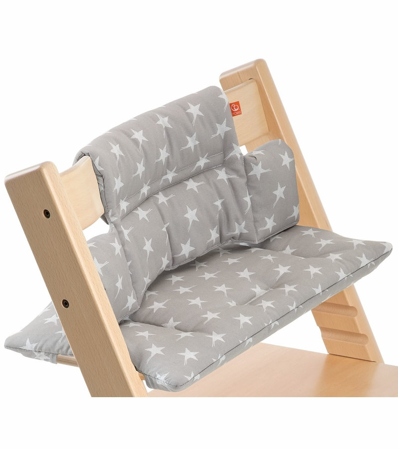 stokke tripp trapp cushion in grey star. Black Bedroom Furniture Sets. Home Design Ideas