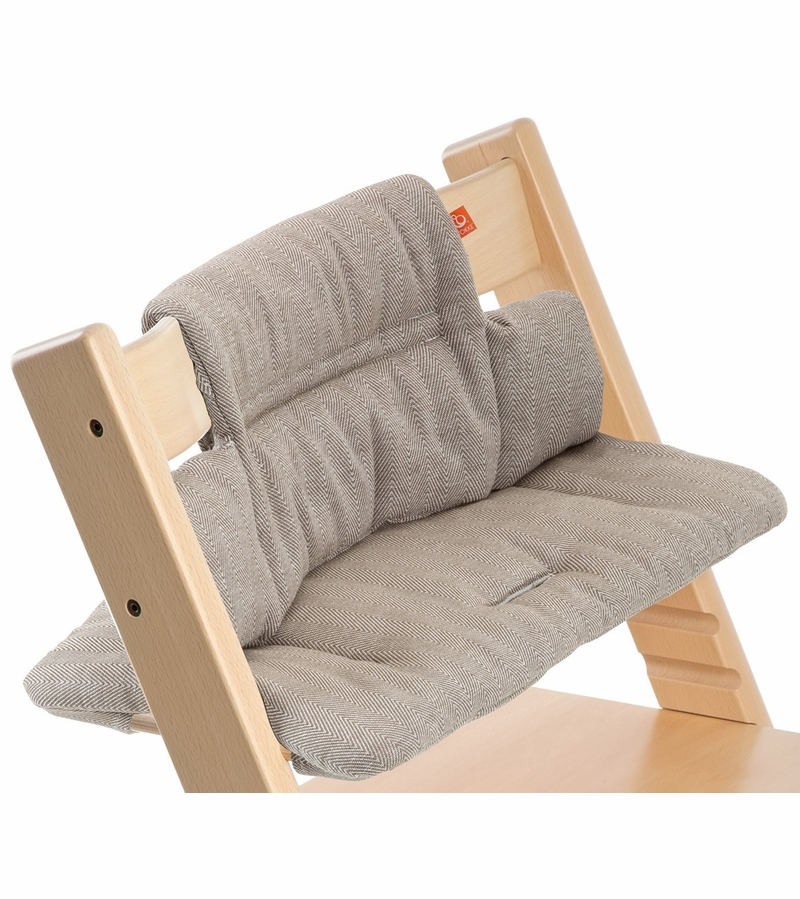 stokke tripp trapp cushion in hazy tweed. Black Bedroom Furniture Sets. Home Design Ideas