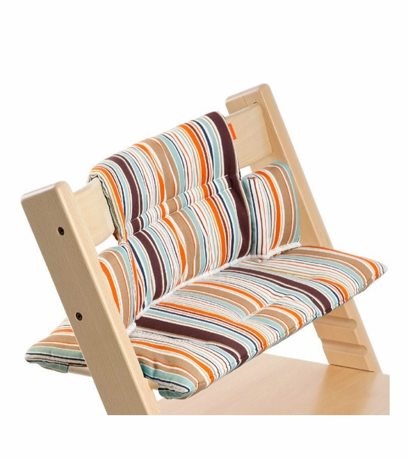 stokke tripp trapp cushion in signature stripe. Black Bedroom Furniture Sets. Home Design Ideas