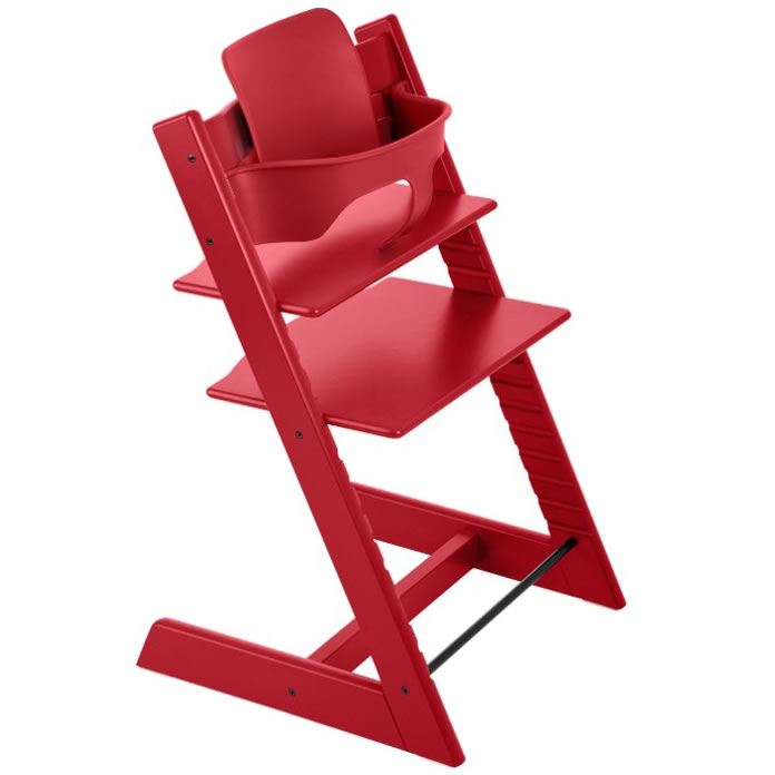 Stokke Tripp Trapp High Chair & Baby Set - Red