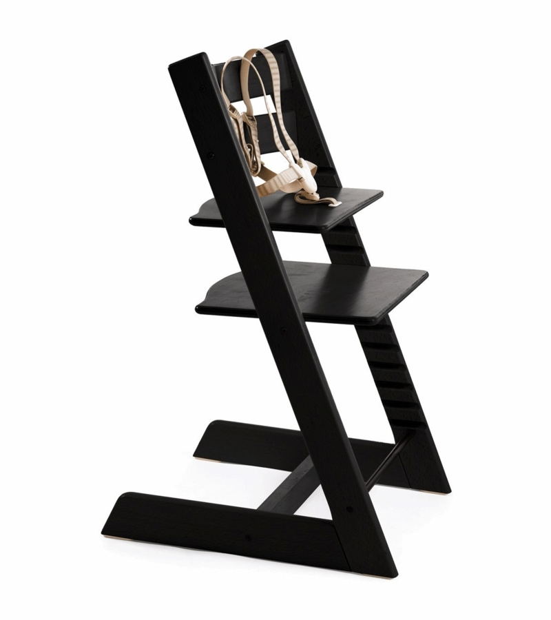 Stokke tripp trapp high chair in black for Tripp trapp stokke amazon