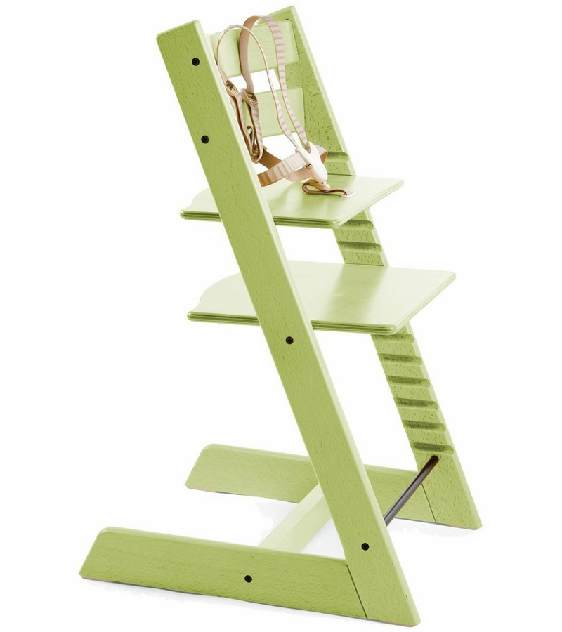 Stokke tripp trapp high chair green for Tripp trapp usato