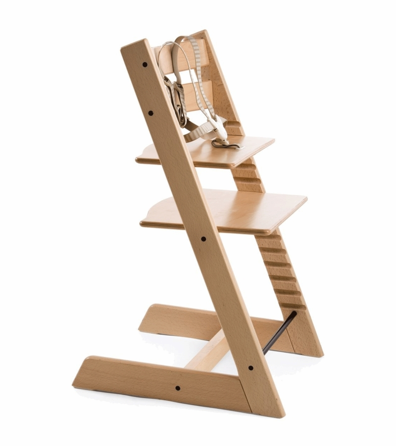 Stokke tripp trapp high chair natural for Cinture stokke tripp trapp