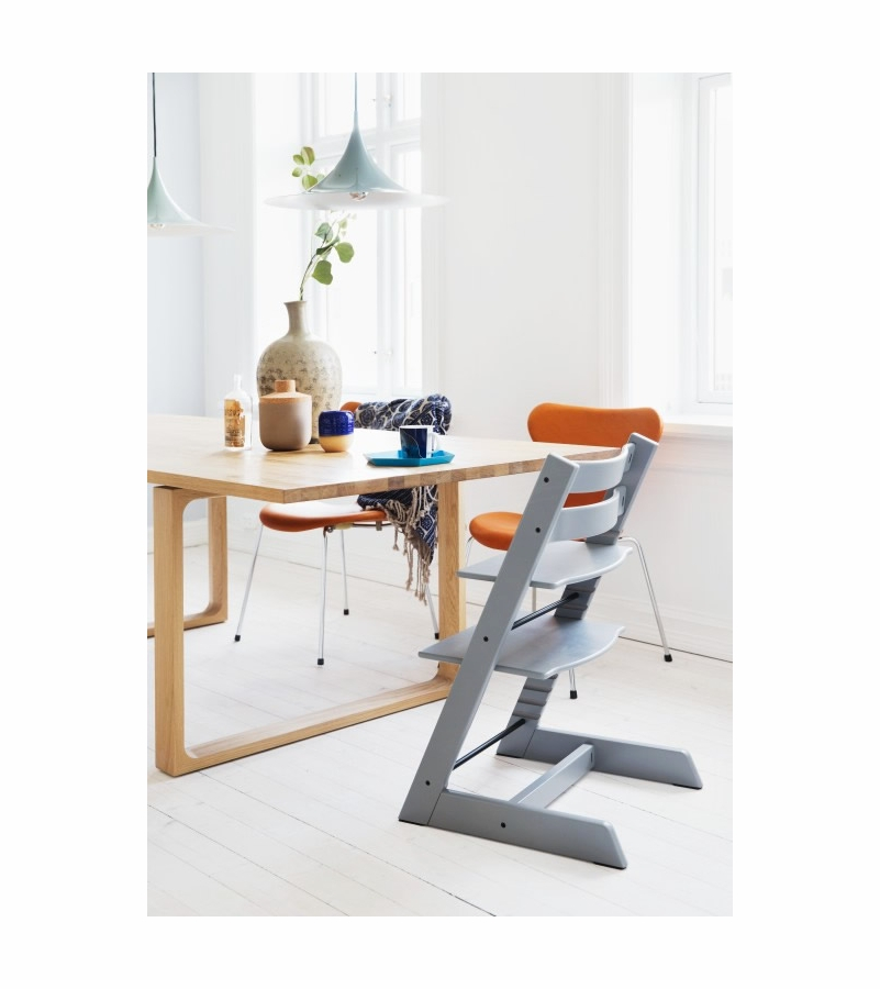 stokke tripp trapp high chair storm grey. Black Bedroom Furniture Sets. Home Design Ideas