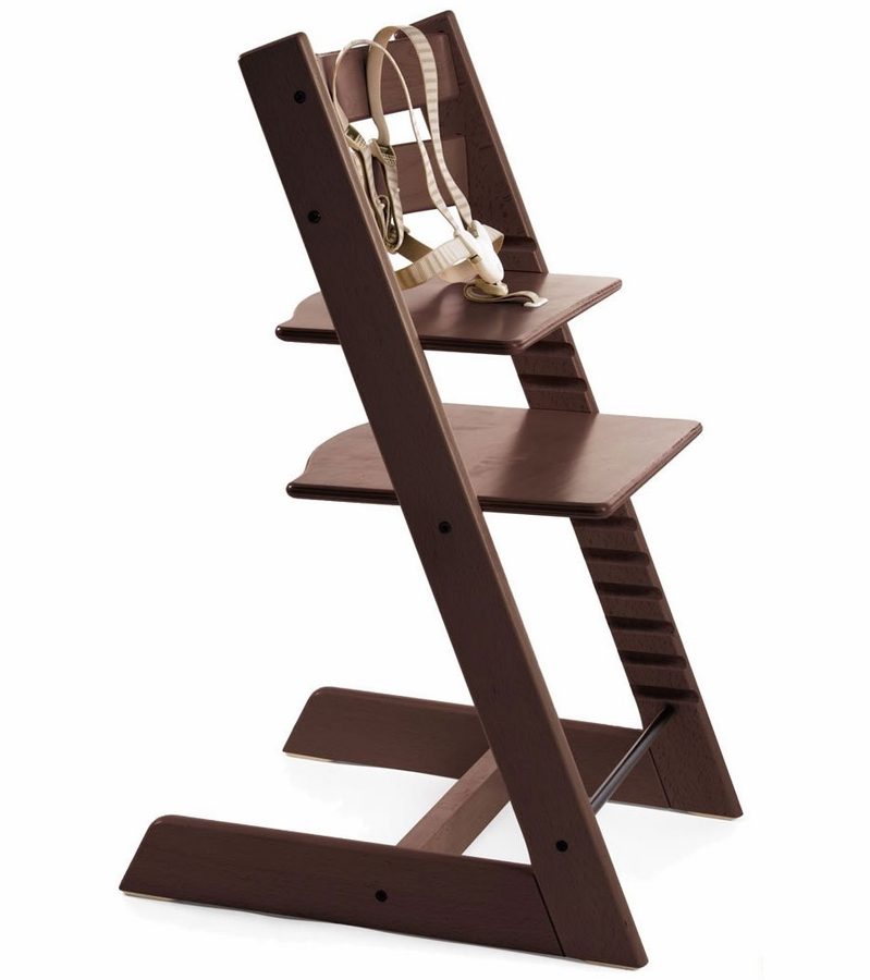 stokke tripp trapp high chair walnut. Black Bedroom Furniture Sets. Home Design Ideas