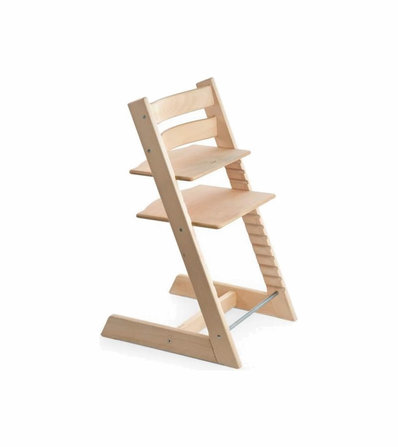 Stokke tripp trapp highchair anniversary edition natural for Chaise tripp trapp