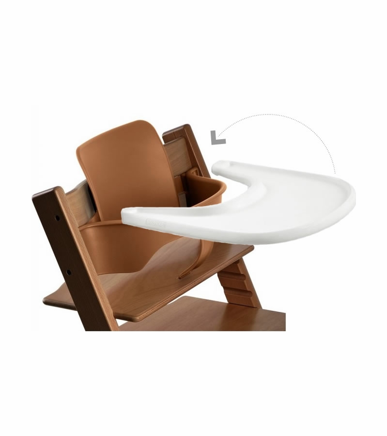 stokke tripp trapp infant starter set walnut. Black Bedroom Furniture Sets. Home Design Ideas