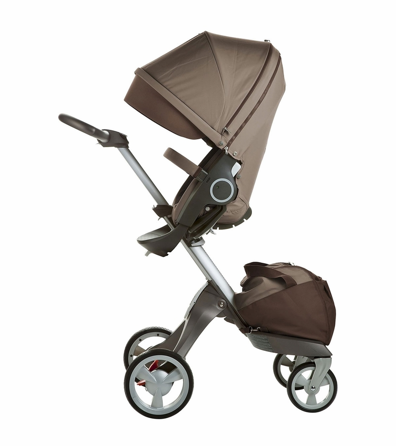 stokke xplory basic stroller in brown. Black Bedroom Furniture Sets. Home Design Ideas