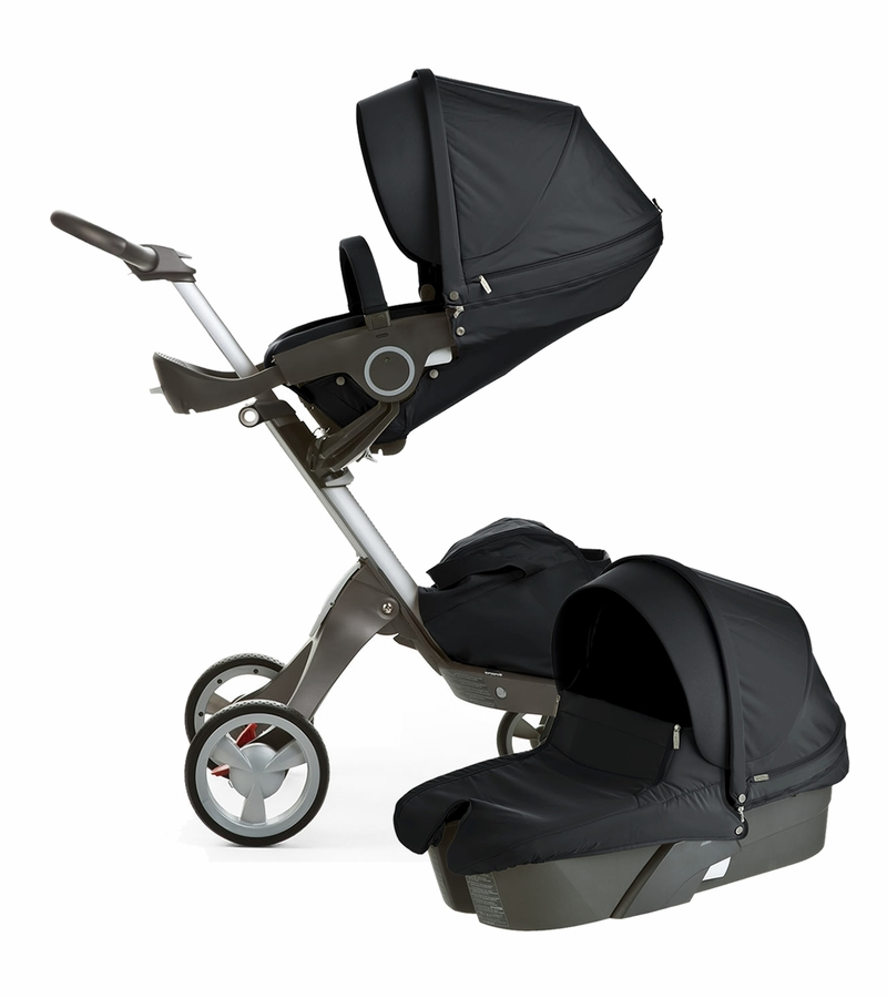 stokke xplory newborn stroller black. Black Bedroom Furniture Sets. Home Design Ideas