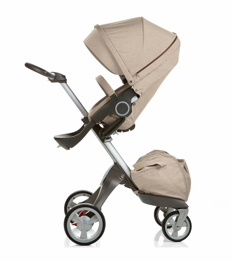 stokke xplory stroller beige melange. Black Bedroom Furniture Sets. Home Design Ideas