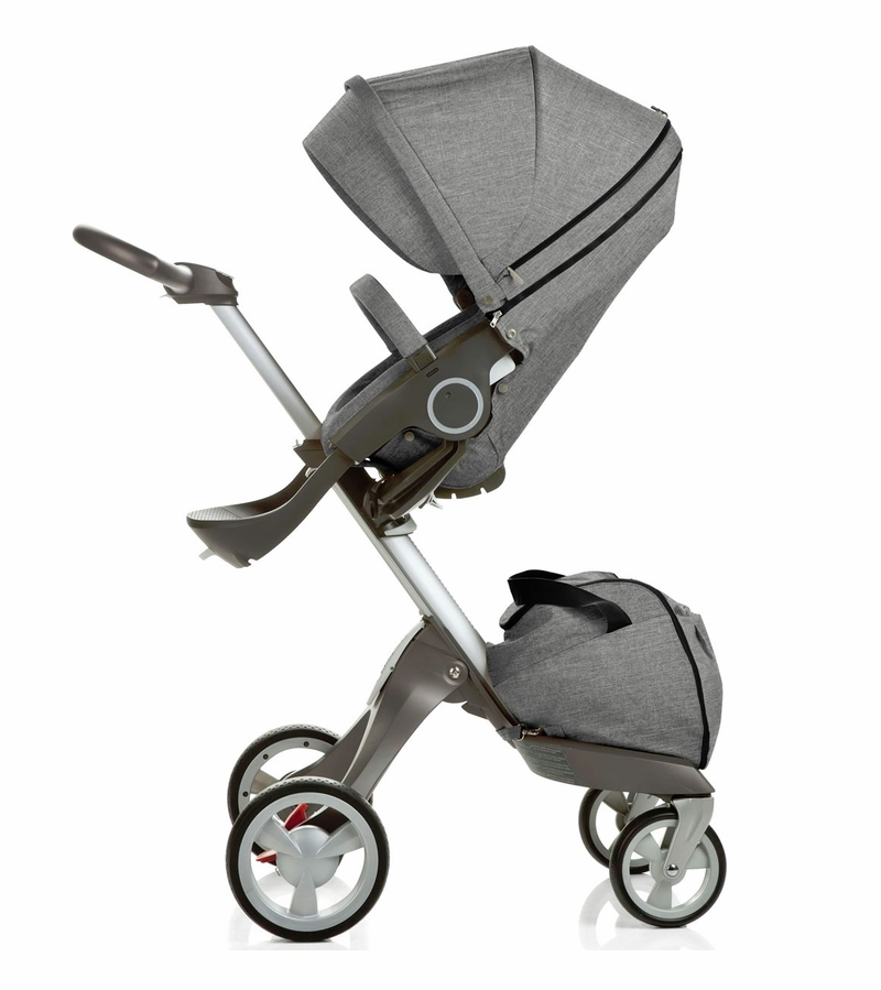 stokke xplory stroller black melange. Black Bedroom Furniture Sets. Home Design Ideas