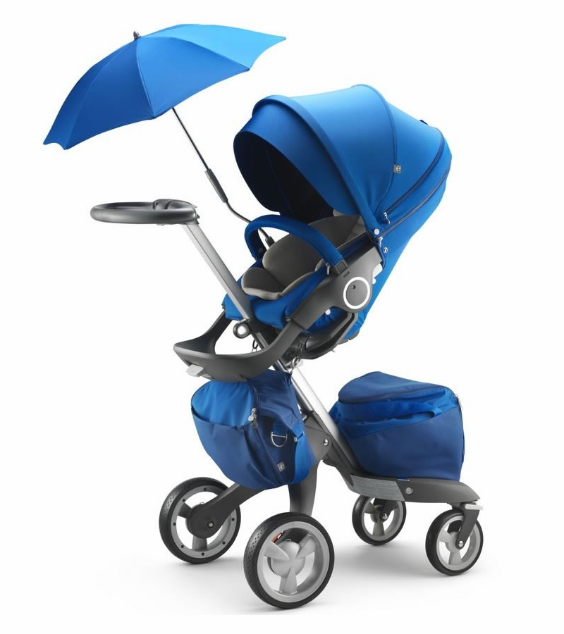 stokke xplory stroller cobalt blue. Black Bedroom Furniture Sets. Home Design Ideas