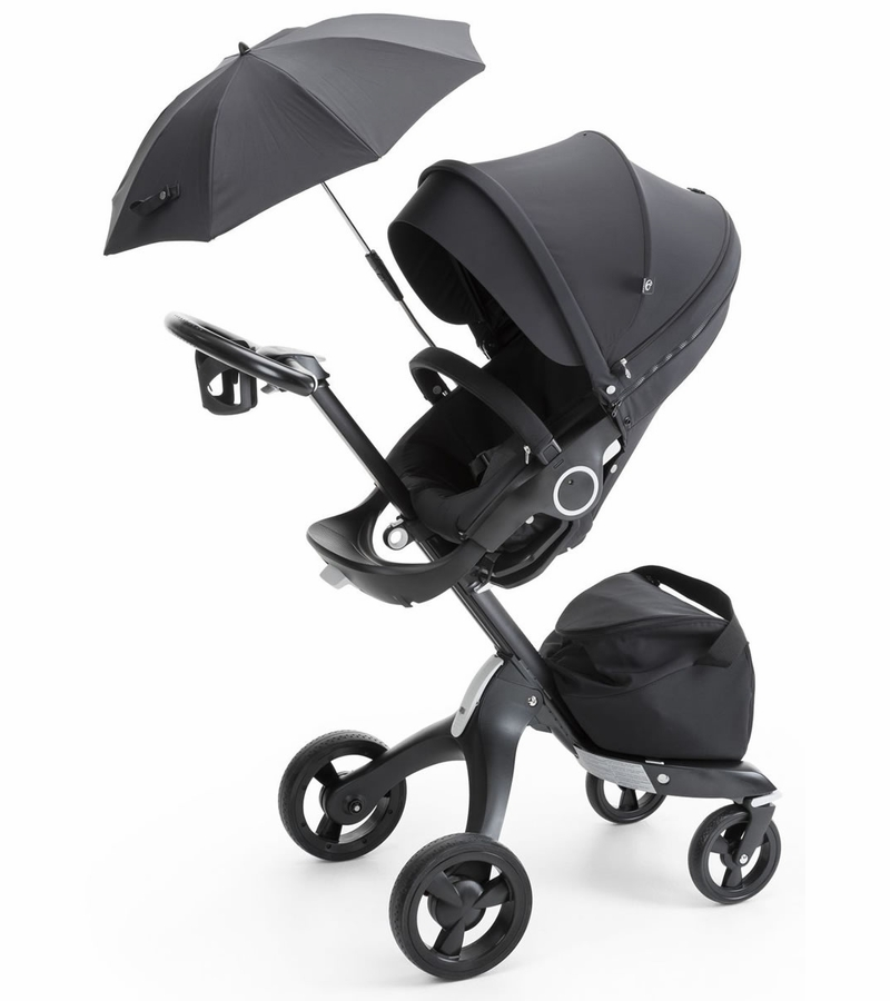 stokke xplory stroller true black limited edition. Black Bedroom Furniture Sets. Home Design Ideas
