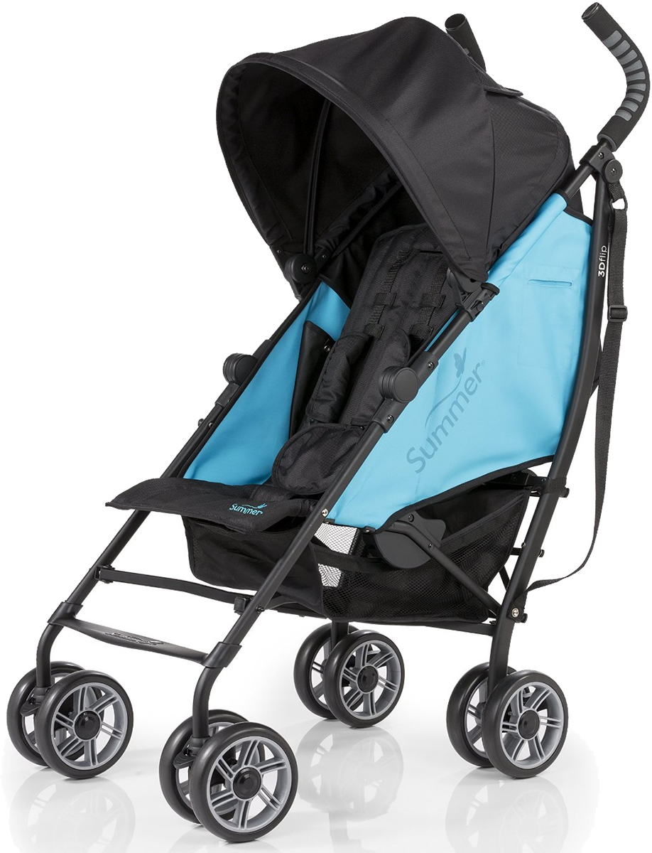 Summer Infant Products 3D Flip Stroller - Teal