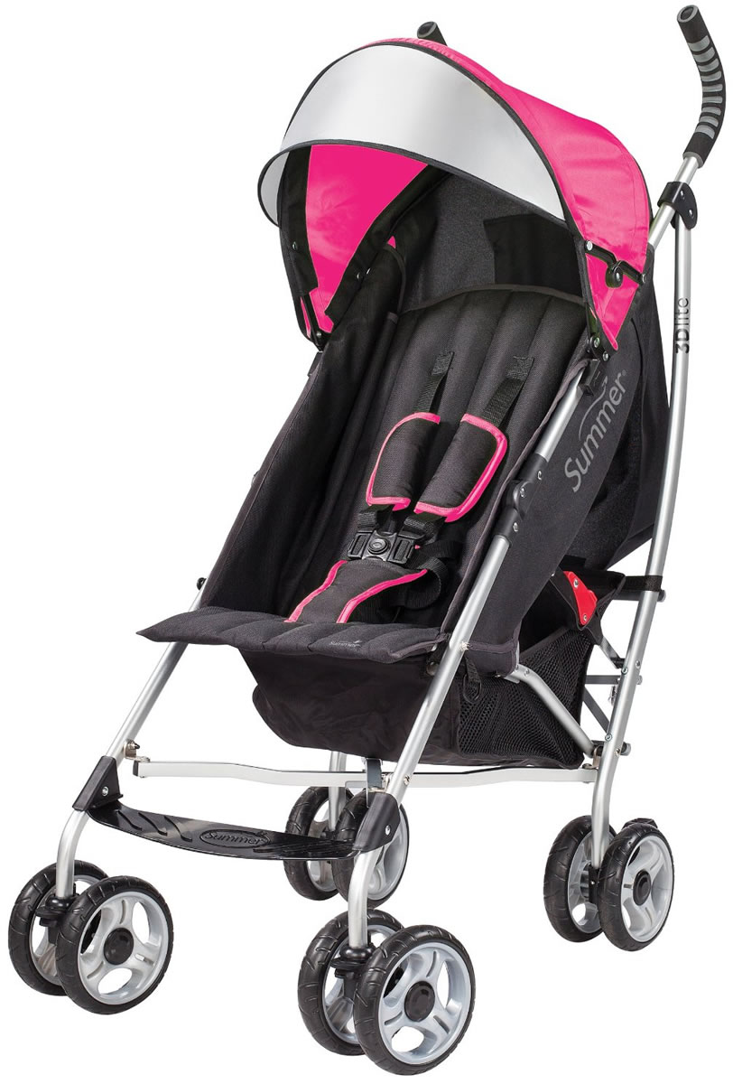 Summer Infant Products 3D Lite Stroller - Hibiscus Pink