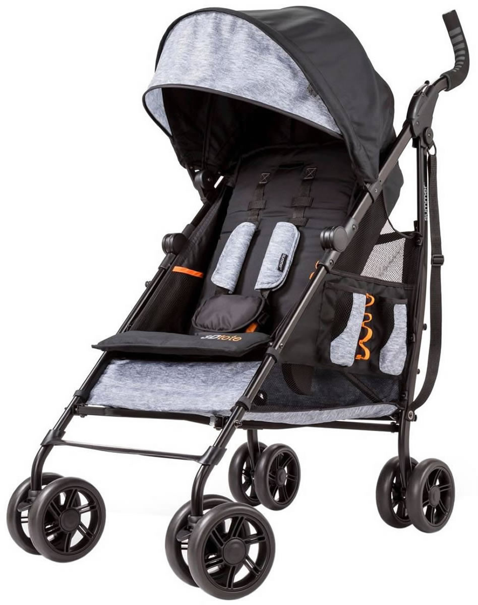 Summer Infant Products 3D Tote Stroller - Heather Gray