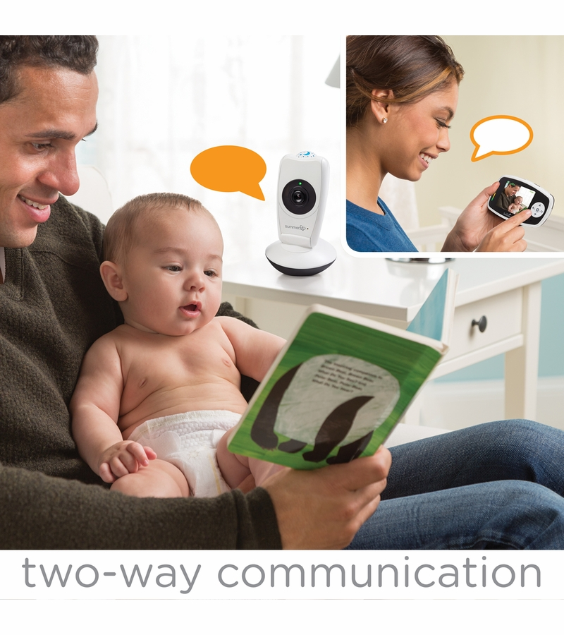 summer infant baby glow video monitor projection camera. Black Bedroom Furniture Sets. Home Design Ideas