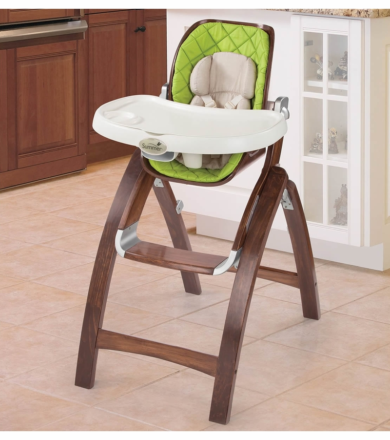 & Summer Infant Bentwood High Chair - Baby Time