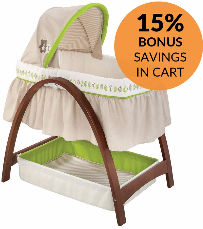 Other Options. Summer Infant Bentwood Motion Bassinet