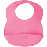 Summer Infant Bibbity Rinse & Roll Bib in Pink