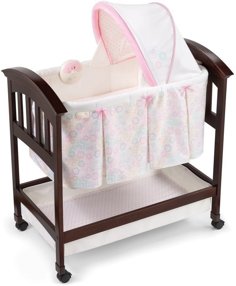 Summer Infant Products Classic Comfort Wood Bassinet - Be...