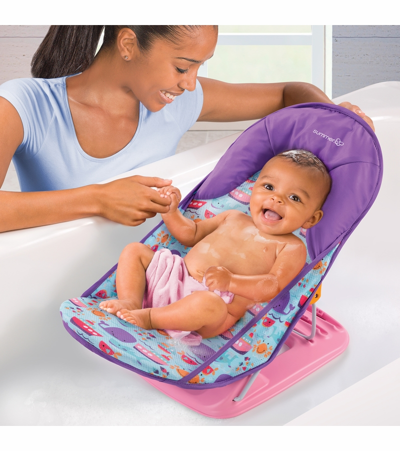 Summer Infant Deluxe Baby Bather Dolphin Drive