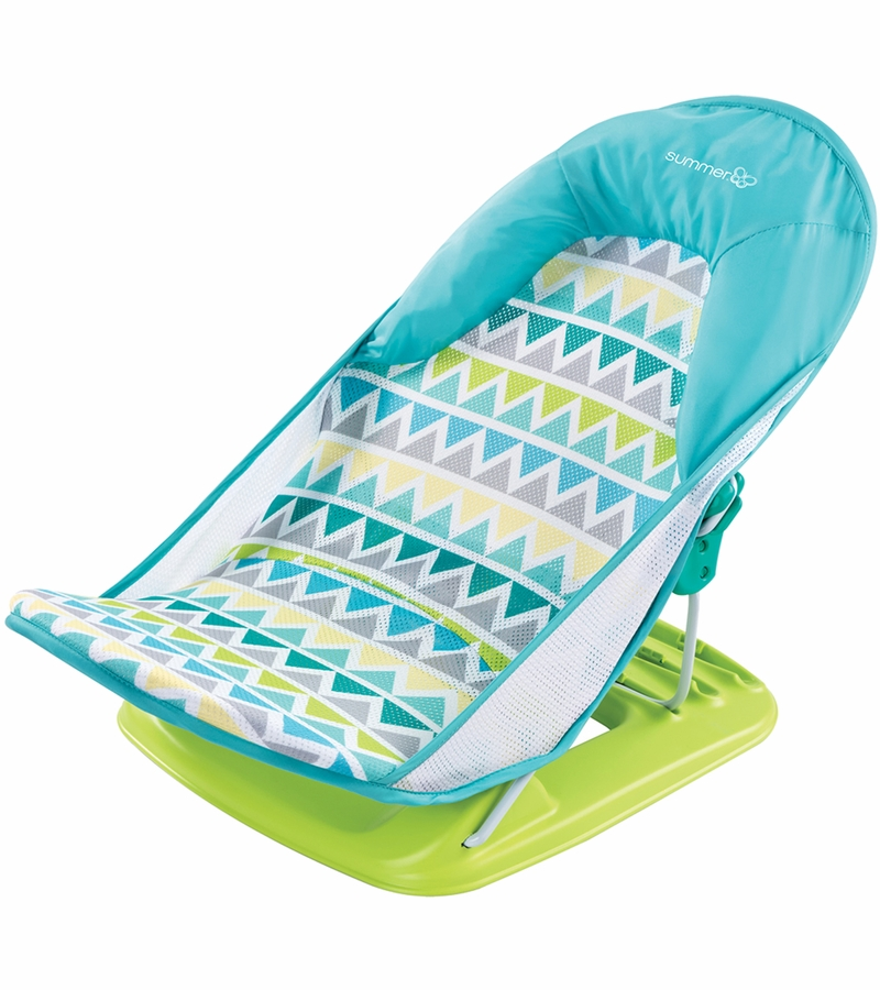 Summer Infant Deluxe Baby Bather Triangle Stripes