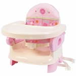 Summer Infant Deluxe Comfort Folding Booster - Pink
