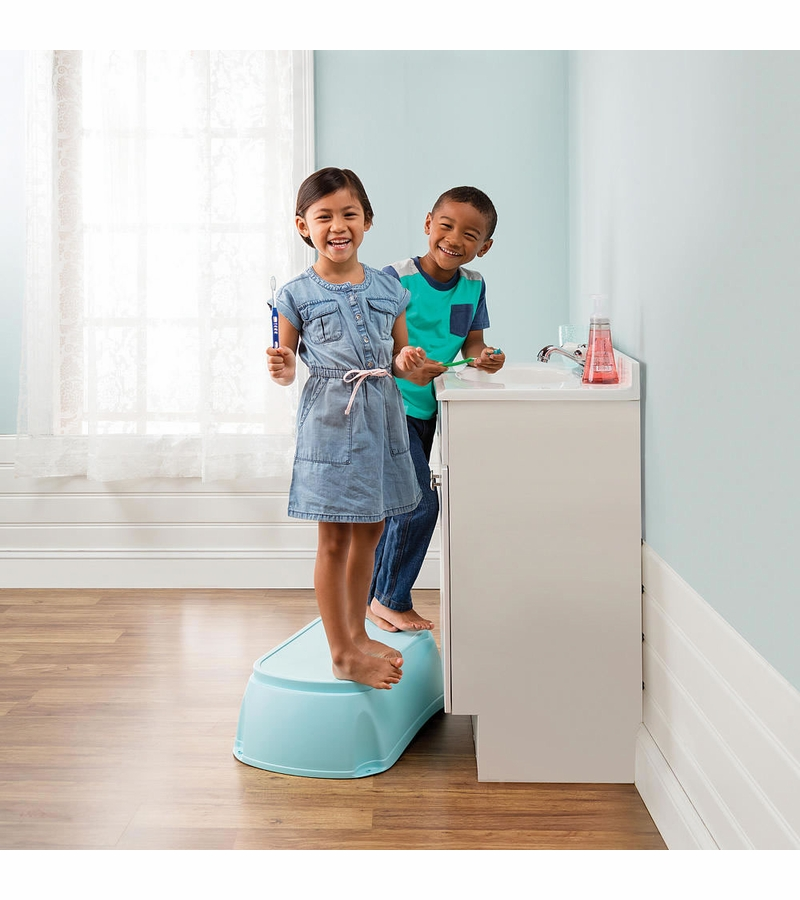Summer Infant Deluxe Right Height Bath Tub Blue