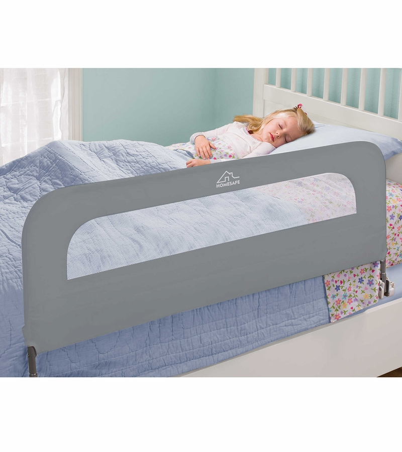 summer infant extra long safety bed rail grey. Black Bedroom Furniture Sets. Home Design Ideas