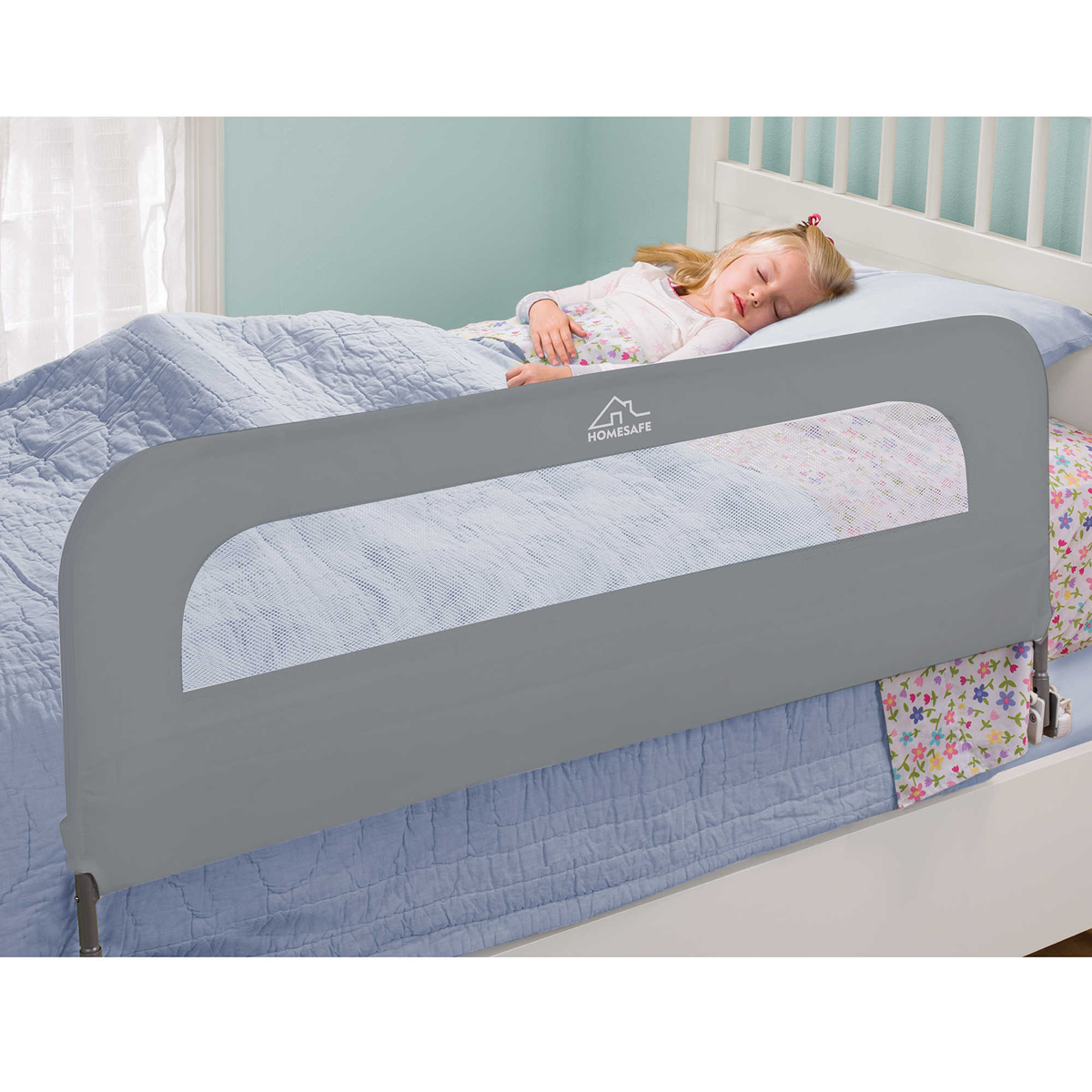 Summer Infant Extra Long Safety Bed Rail Grey