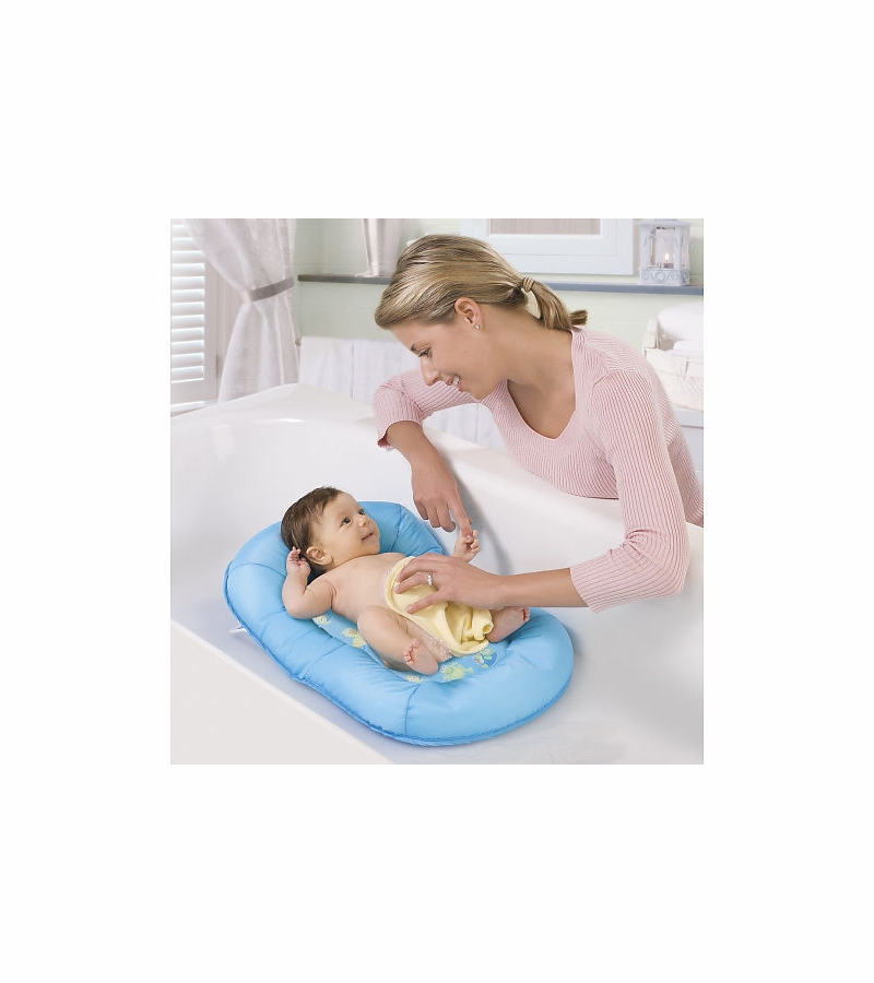 Summer Infant Mother\'s Touch Comfort Bath Support in Blue