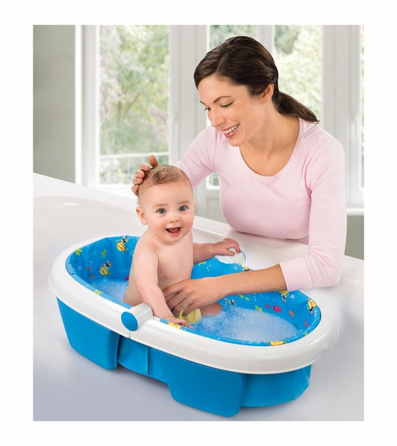 Summer Infant Newborn to Toddler Fold Away Bathtub