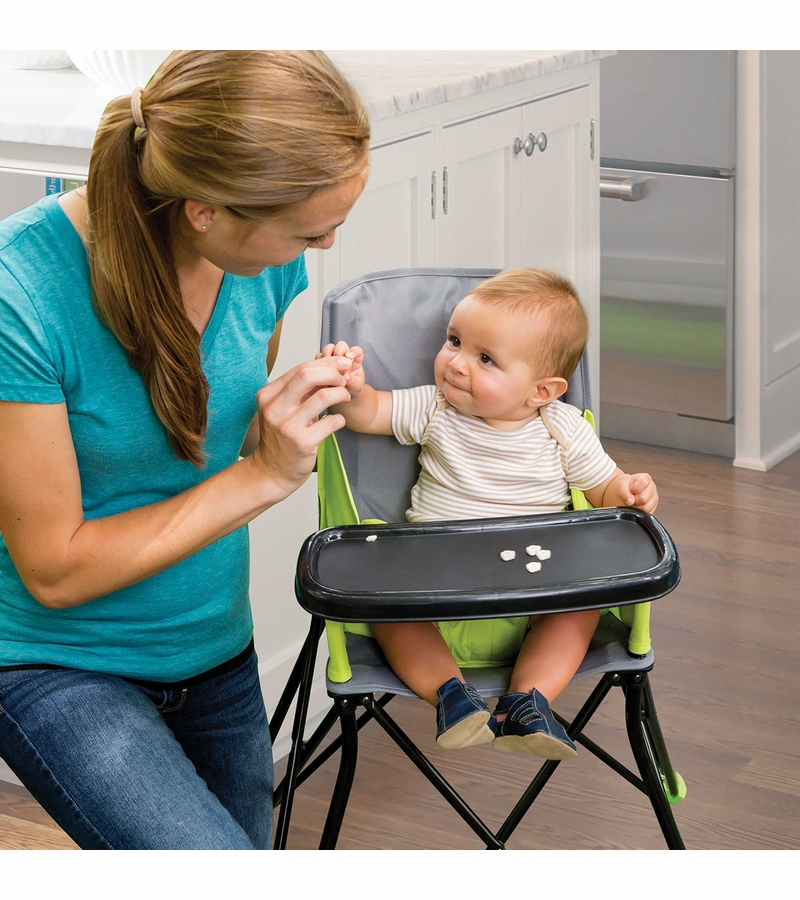 sc 1 st  Albee Baby & Summer Infant Pop u0027n Sit Portable Highchair - Green