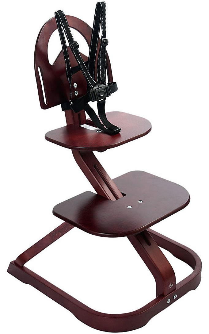 Svan Signet Essential High Chair - Mahogany