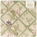 Sweet JoJo Designs Annabel Fabric Memo Board