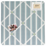 Sweet JoJo Designs Argyle Green & Blue Fabric Memo Board