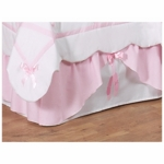 Sweet JoJo Designs Ballerina Toddler Bed Skirt