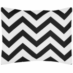 Sweet JoJo Designs Black & White Chevron Pillow Sham