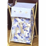 Sweet JoJo Designs Camo Blue Hamper