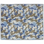 Sweet JoJo Designs Camo Blue Rug