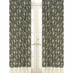 Sweet JoJo Designs Camo Green Window Panels - Set of 2