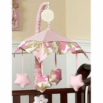 Sweet JoJo Designs Camo Pink Musical Mobile