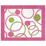 Sweet JoJo Designs Circles Pink Rug